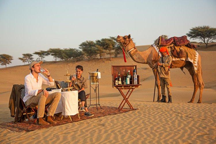 Experiencia desierto luna de miel Jaisalmer