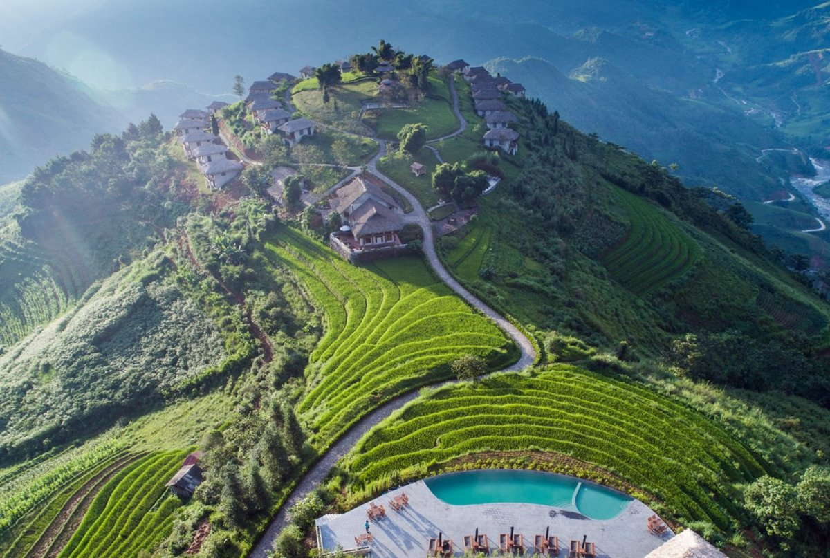 Vietnam Sapa terrazas de arroz