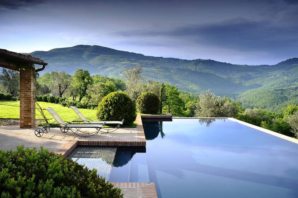 villas de lujo Toscana Italia